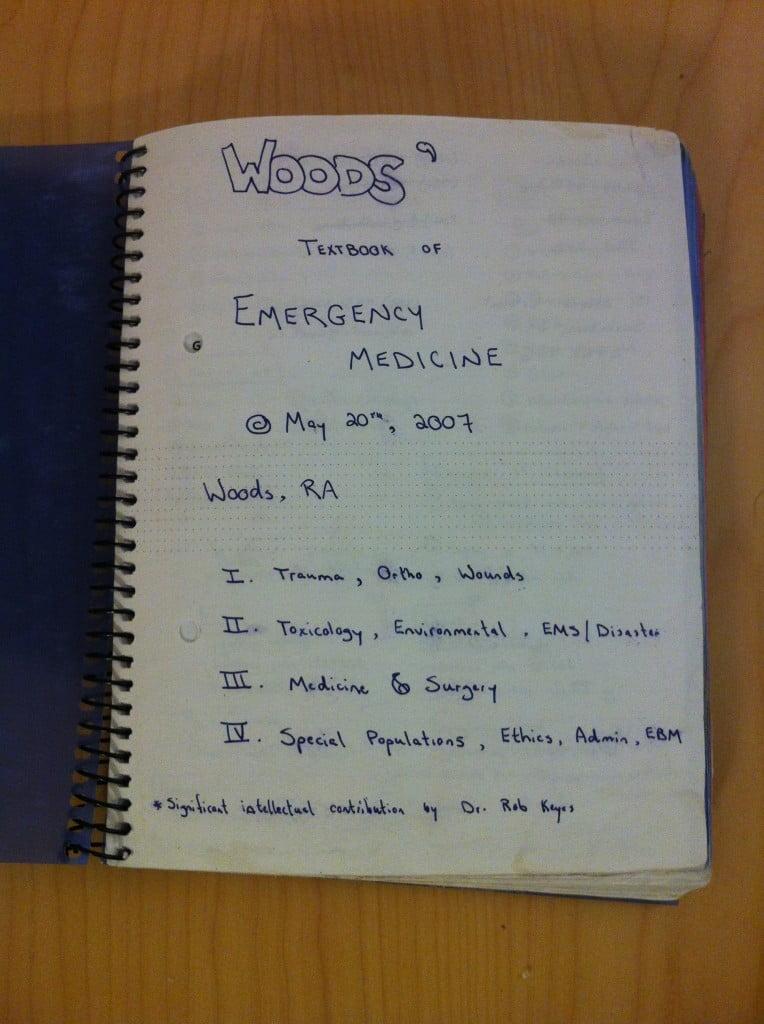 Woods' Textbook of Emergency Medicine