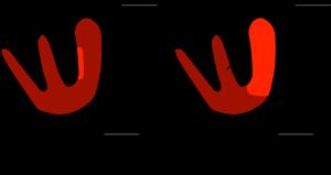 Figure 6: Cardiac depolarization with a blocked LPIF, part 1
