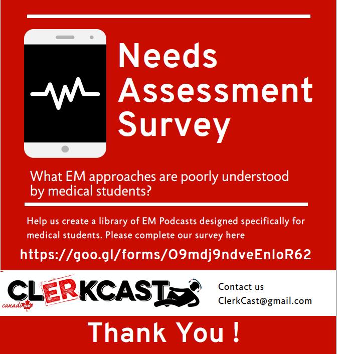 CLerkCast Needs Assesment Graphic
